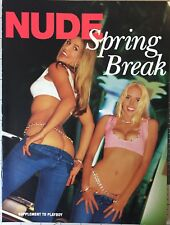 Playboy Magazine NUDE SPRING BREAK - SUPPLEMENT TO PLAYBOY - Collectors 2004