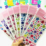Self Adhesive Glitter Flower Crystal Gems Jewel Diamond Sticker Rhinestone  SG