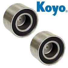 Pair Set of 2 Engine Timing Belt Rollers 13073 AA142 Koyo for Saab 9-2X Subaru