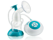 Electric Electronic Breast Pump, fully-automatic, silicone gel pad, BPA-Free