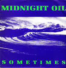 "MIDNIGHT OIL - SOMETIMES SINGLE 7"" PROMO SPAIN 1992 NO SIDE B - EXCELLENT CONDIT"