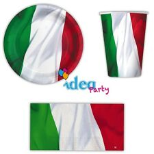 Coordinated Complete Table Italy Party Decorations Set Kit Soccer Team