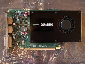 NVIDIA QUADRO K2200 4 GB PCIe Grafikkarte | 2 x DP / DisplayPort, 1 x DVI | CAD