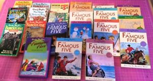 FAMOUS FIVE FULL SET of 21 Books ENID BLYTON Complete 1 Hardback Rest Paperback