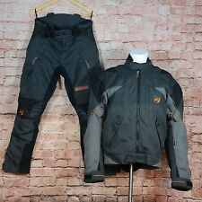 Akito Desert Motorcycle Biker Suit Jacket Medium & Trousers Small