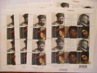8 mal Niederlande 2410-2414 Rembrandt Kleinbogen 2006 xx postfrisch (20)