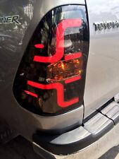 Black Smoke Lens Led Tail Lamp Light Fit Toyota Hilux Revo Sr5 M70 M80 15 16 17