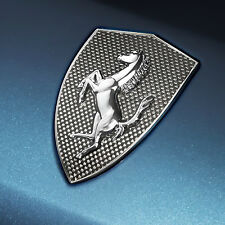 Ferrari California T Emblems shield carbon fibre fender shields Kit 70004933