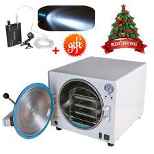 18L 900W Medical Autoclave Steam Sterilizer Dental Lab Disinfection +Gift Light