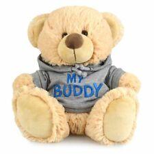 My Buddy Bear Kids/Toddler 23cm Soft Hoodie Plush/Stuffed Animal Toys 3y+ Brown