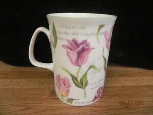 BONE CHINA ROSE OF ENGLAND TULIP COFFEE TEA CUP..TULIPA MUG..ENGLAND