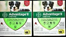 Advantage Ii for Large Dog 21 - 55 lbs - 2 Dose Pack *Help Save Animals*