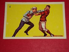 1961 WHEATIES GREAT MOMENTS IN CANADIAN SPORTS #4 McGILL INTRODUCES FOOTBALL