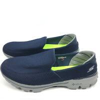Sketchers Men's Size 16 Go Walk 3 Performance Slip on Walking Shoe Blue Gray NEW