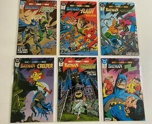 Best of Brave and Bold set #1-6 DC 6 different books 8.5 VF+ (1988-'89) Batman