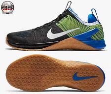 Nike Metcon DSX Flyknit 2 Black/Volt 924423 006 Men's Cross Training Shoe Sz 14