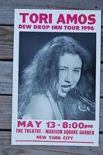 Tori Amos Concert Tour poster 1996 Madison Square Gardens