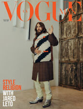 Jared Leto VOGUE Man Ukraine #10 2018 + Rose Daniels fashion celebrity