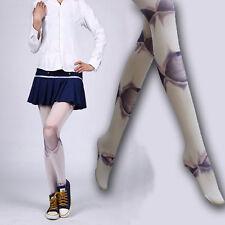 Cool Joints Pantyhose Kawaii Stocking Tights High Socks Mori Girl Printed Lolita