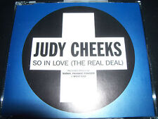 Judy Cheeks So In Love (The Real Deal) UK Remixes CD Single