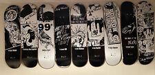 Andy Warhol Alien Workshop Black White Ad Series Skateboard Set Of 9 Dill Dylan
