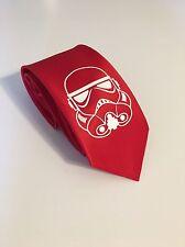 Star Wars , Storm Trooper Necktie, Red Tie