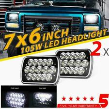 "2x 7x6"" 5x7"" 150W CREE LED Headlights Hi-Lo Beam for Dodge D150 D250 D350 Ram 50"