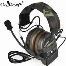 Z tactical Sordin Airsoft Comtac 1 Headset Helmet Noise Reduction Headphone Z054