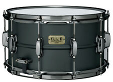 Tama SLP Steel Flat Black Snare - LST148 - 14'' x 8''