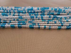 Single strand tie-on waist beads