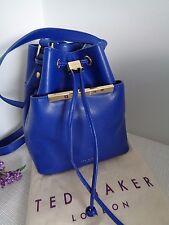Ted Baker Azul Brillante Top Ersilda transversal Bolso de Lazo Rrp £ 159 último