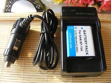 Battery BP-70A + charger FOR SAMSUNG SL50 SL600 SL630 TL105 ES74 PL80 TL205