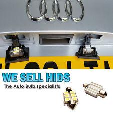 CANBUS LED 36 mm 6 SMD AUDI A2 A3 A4 A6 A8 Q7 239 272 número de matrícula o interior