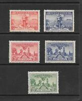 1936 King George V  SG147159 to SG163 inc. 2 sets Mint Hinged AUSTRALIA
