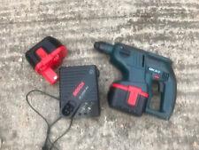 Bosch GBH 24 V Hammer Drill 2X Batteries & Charger