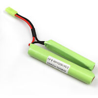 8.4V 1600mAh NiMH 2/3A Tamiya Airsoft Butterfly Rechargeable Battery Pack New