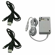 Ac Wall Plug Charger And 2 Usb Power Adapter Cables For Nintendo 3Ds Dsi Xl