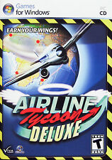 AIRLINE TYCOON DELUXE - PC GAME *** Brand New & Sealed ***