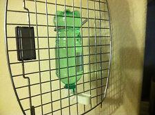 4 PK SODA POP / WATER BOTTLE FOUNTAIN DRINKER CUP FOR  QUAIL CHICKEN BIRD CHICKS