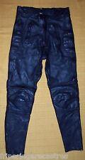 Très beau Pantalon CUIR Moto SACE noir, Taille 40       (PM_002)