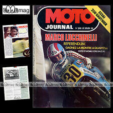 MOTO JOURNAL N°295 GAUTHIER 250 DUCATI 350 SPORT DESMO MARCO LUCCHINELLI 1976