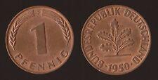 GERMANIA GERMANY 1 PFENNIG 1950 D