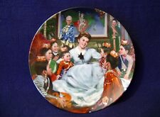 """The King & I Collector 3rd Plate """"Getting To Know You"""" 8 1/2"""" Dia 1985 Knowles"""