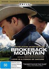 Brokeback Mountain (2005) Jake Gyllenhaal, Heath Ledger - NEW DVD - Region 4