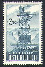 Austria 1959 Radio/Tower/Communications/Microwave/Telecomms 1v (n38519)