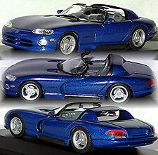 Dodge Viper RT/10 Cabriolet 1992-2002 BLUE BLUE METALLIC 1.43 MINICHAMPS
