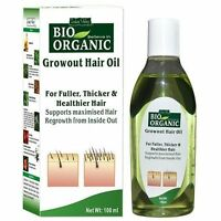 Indus Valley Bio Organic Regrowth Hair Oil 100ml