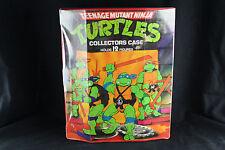Vintage Teenage Mutant Ninja Turtles Carry Case, Action figure, Accessories Lot