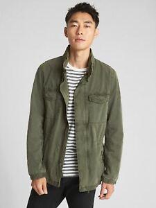 Gap Military Jacket with Hidden Hood NWT $128 msrp