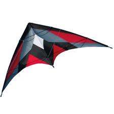 CIM Lenkdrachen Katana Red Drachen 170cm x 90cm inkl. Steuerleinen Flugdrachen